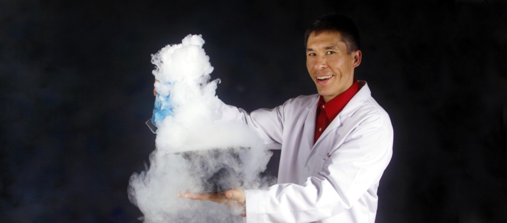 Science Magician Jeff Evans